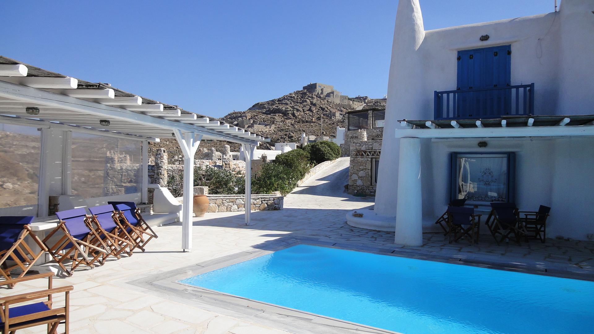 House in Myconos