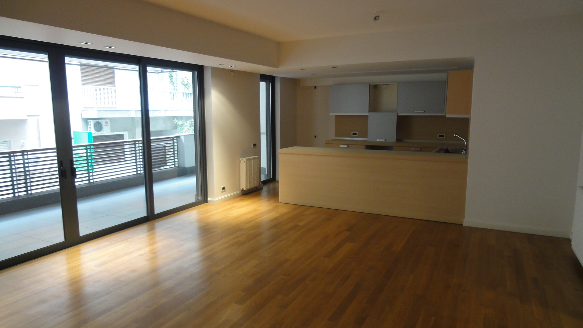 Newly built apartment